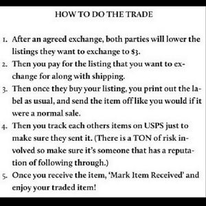 Tops - How to trade😘